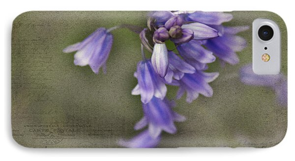 Bluebells Phone Case by Rebecca Cozart