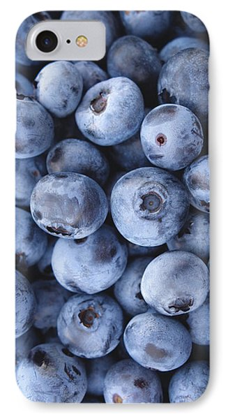 Blueberries Foodie Phone Case IPhone Case by Edward Fielding