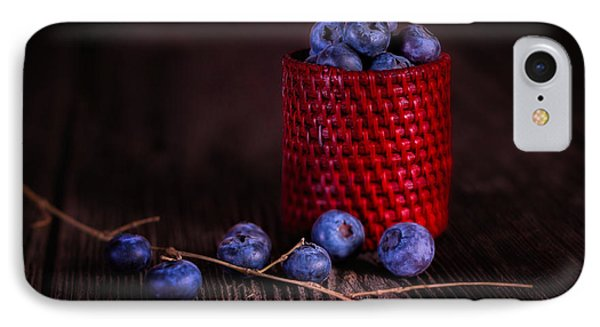 Blueberry Delight IPhone 7 Case by Tom Mc Nemar