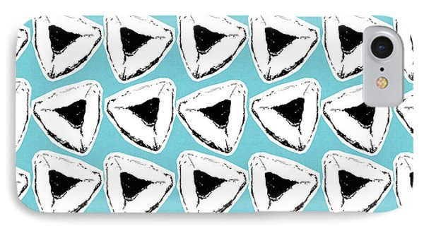 Blueberry Hamentashen- Art By Linda Woods IPhone Case by Linda Woods