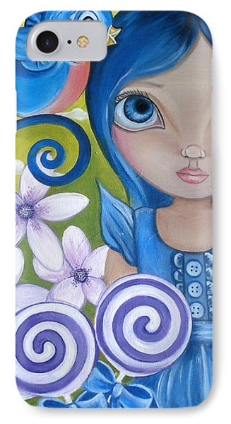 Blueberry Phone Case by Jaz Higgins