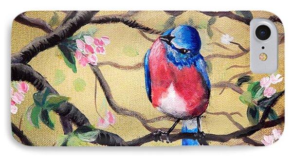 Bluebird By Gretchen Smith IPhone Case by Gretchen  Smith