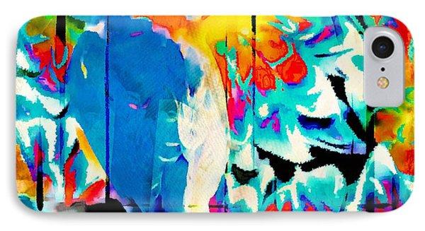 Bluebird Pop Art IPhone Case by Tina LeCour