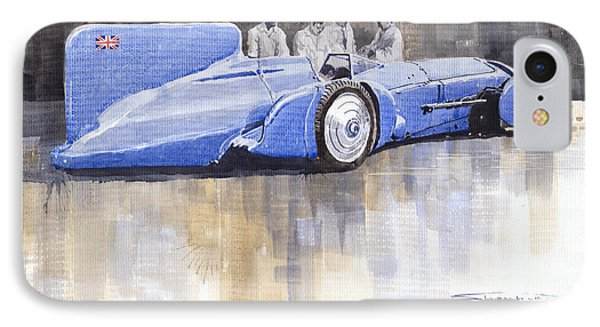 Bluebird World Land Speed Record Car 1931 Phone Case by Yuriy  Shevchuk
