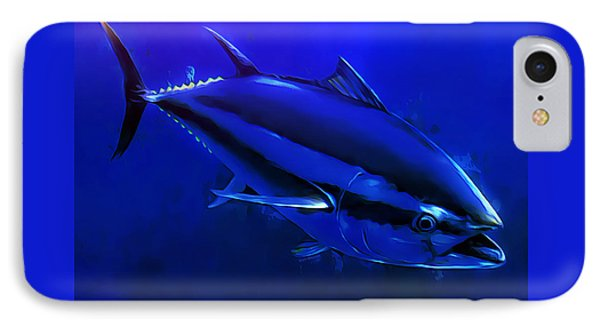 Bluefin Tuna Portrait 1 IPhone Case