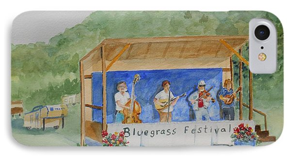 Bluegrass Festival IPhone Case by Christine Lathrop
