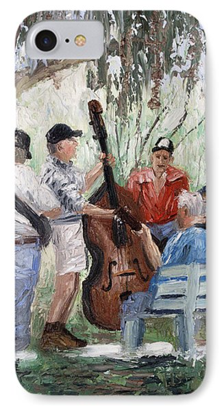 Bluegrass In The Park Phone Case by Anthony Falbo
