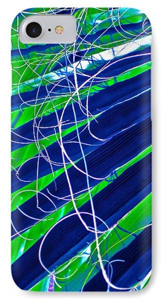 Bluegreen Palm Fun Phone Case by Gwyn Newcombe