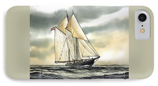 Bluenose  IPhone Case by James Williamson