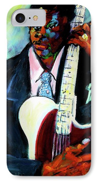 Blues Boy IPhone Case by Les Leffingwell