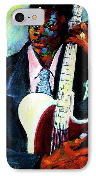 Blues Boy IPhone Case