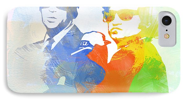 Blues Brothers Phone Case by Naxart Studio