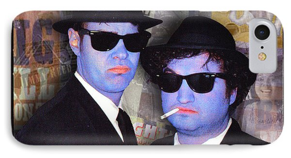 Blues Brothers Sepia IPhone Case