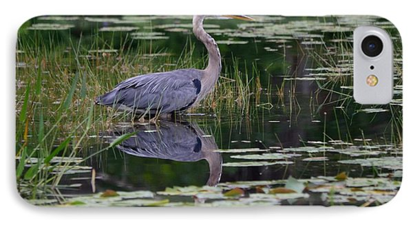 Blue's Image- Great Blue Heron IPhone Case