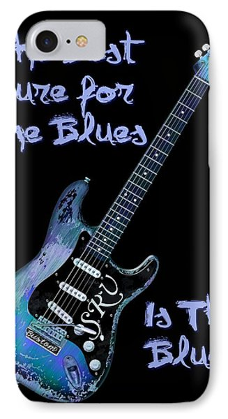 Blues Is The Cure IPhone Case by WB Johnston