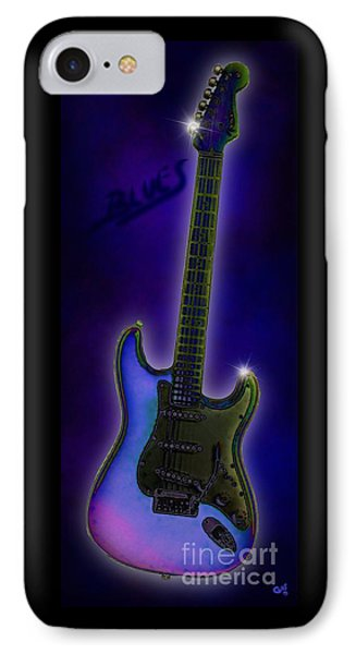IPhone Case featuring the digital art Blues  by Nick Gustafson