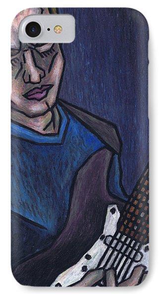 Blues Player Phone Case by Kamil Swiatek