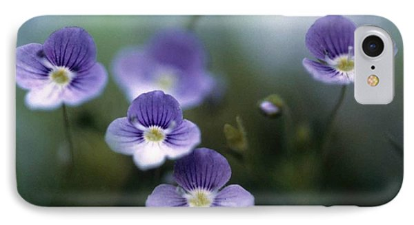 Bluettes Phone Case by Laurie Paci