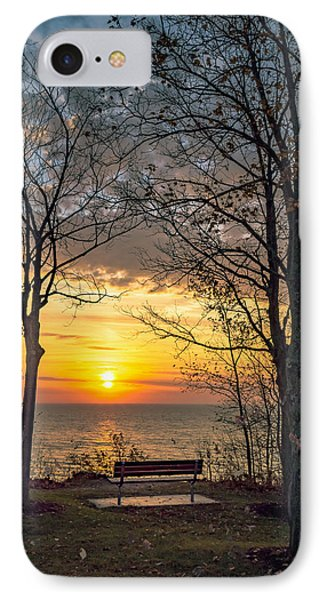 Bluff Bench IPhone Case by James  Meyer