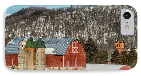Bluff Country Barn IPhone Case by Paul Freidlund