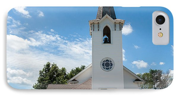 Bluffs Trinity Lutheran Church IPhone Case by Edward Peterson