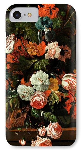Blumenstillleben IPhone Case by Ernst Stuven