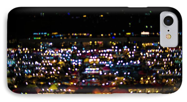 Blurred City Lights  IPhone Case by Jingjits Photography