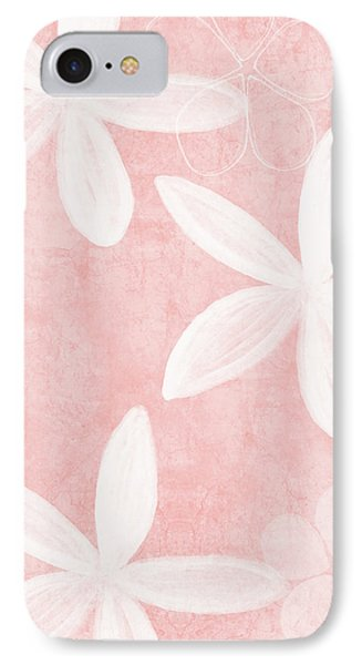 Simple iPhone 7 Case - Blush Blossoms 3- Art By Linda Woods by Linda Woods