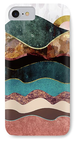 Blush Moon IPhone Case by Katherine Smit