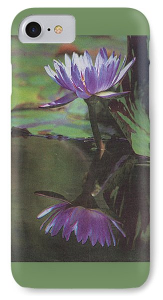 Blush Of Purple IPhone Case by Suzanne Gaff