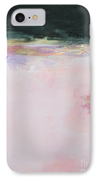 Blush Seduction Abstract Art Print IPhone Case by Anahi DeCanio