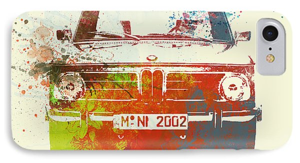 Bmw 2002 Front Watercolor 2 IPhone Case