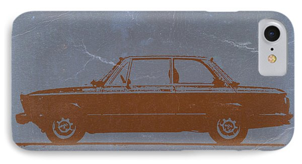 Bmw 2002 Orange IPhone Case by Naxart Studio