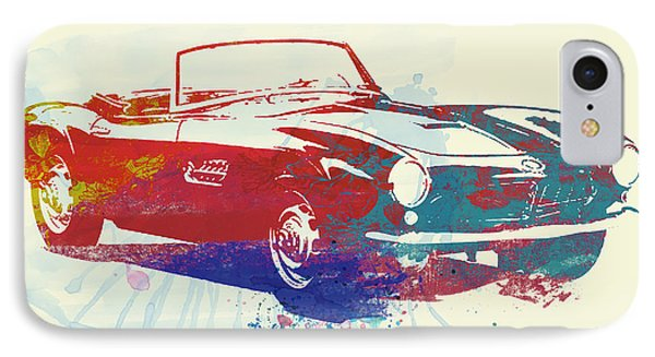 Bmw 507 IPhone Case by Naxart Studio