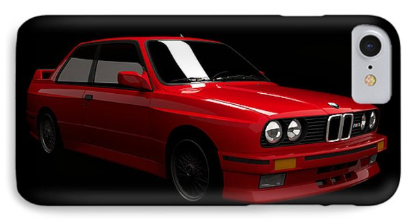 Bmw M3 E30 IPhone Case