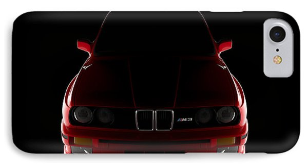 Bmw M3 E30 - Front View IPhone Case