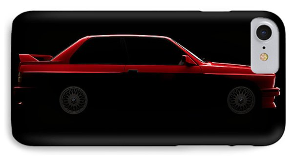 Bmw M3 E30 - Side View IPhone Case