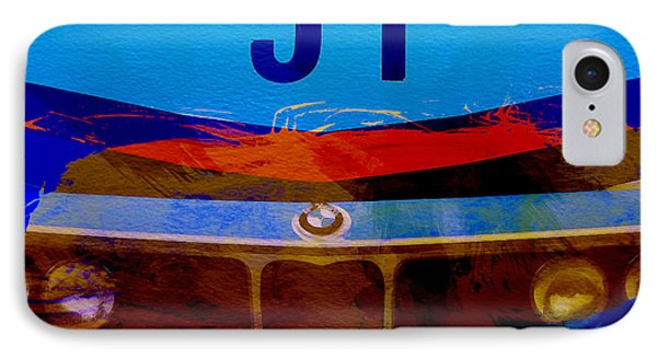 Bmw Racing Colors IPhone Case by Naxart Studio