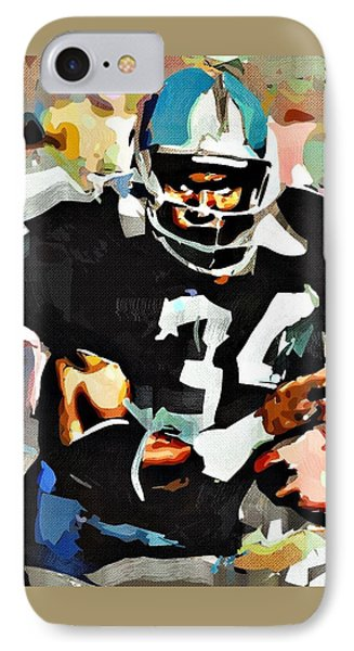 Bo Jackson IPhone Case by Bob Smerecki