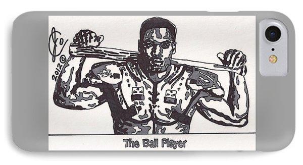 Bo Jackson The Ball Player IPhone Case