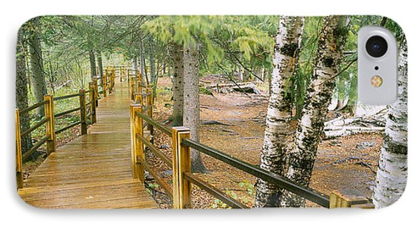 Boardwalk Along A River, Gooseberry IPhone Case by Panoramic Images