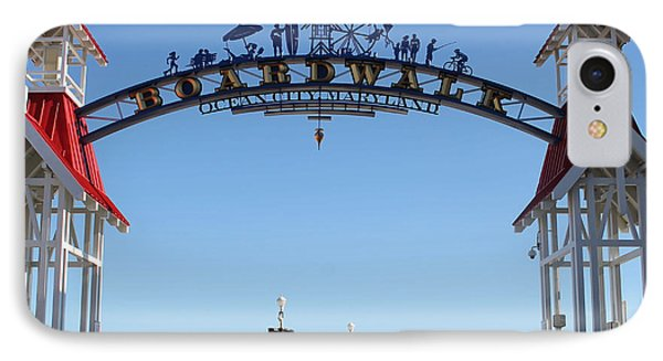 Boardwalk Arch At N Division St IPhone Case
