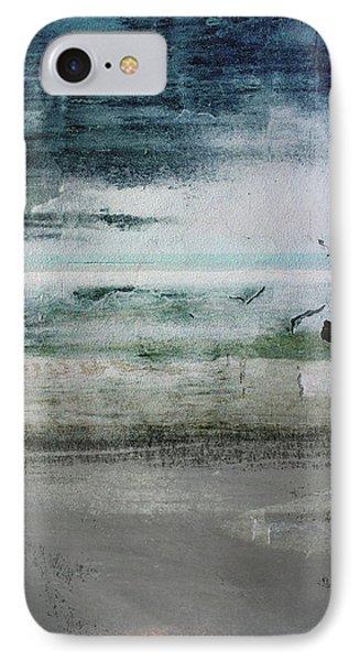 Boardwalk Blues 2- Art By Linda Woods IPhone Case