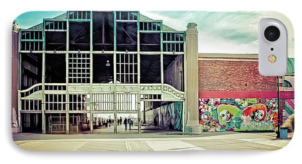 IPhone Case featuring the photograph Boardwalk Casino - Asbury Park by Colleen Kammerer