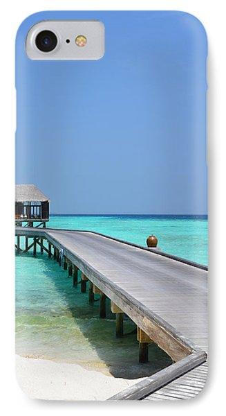 Boardwalk In Paradise IPhone Case by Corinne Rhode