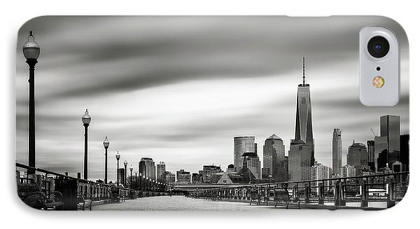 Boardwalk Into The City IPhone Case