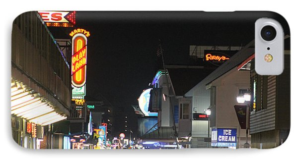 Boardwalk Night Lights IPhone Case