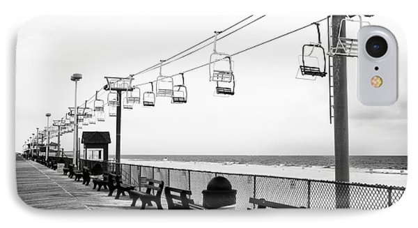 Boardwalk Ride Phone Case by John Rizzuto