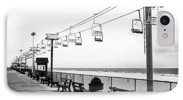 Boardwalk Ride IPhone Case by John Rizzuto