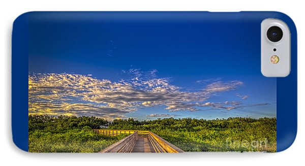 Boardwalk Sunset IPhone Case by Marvin Spates
